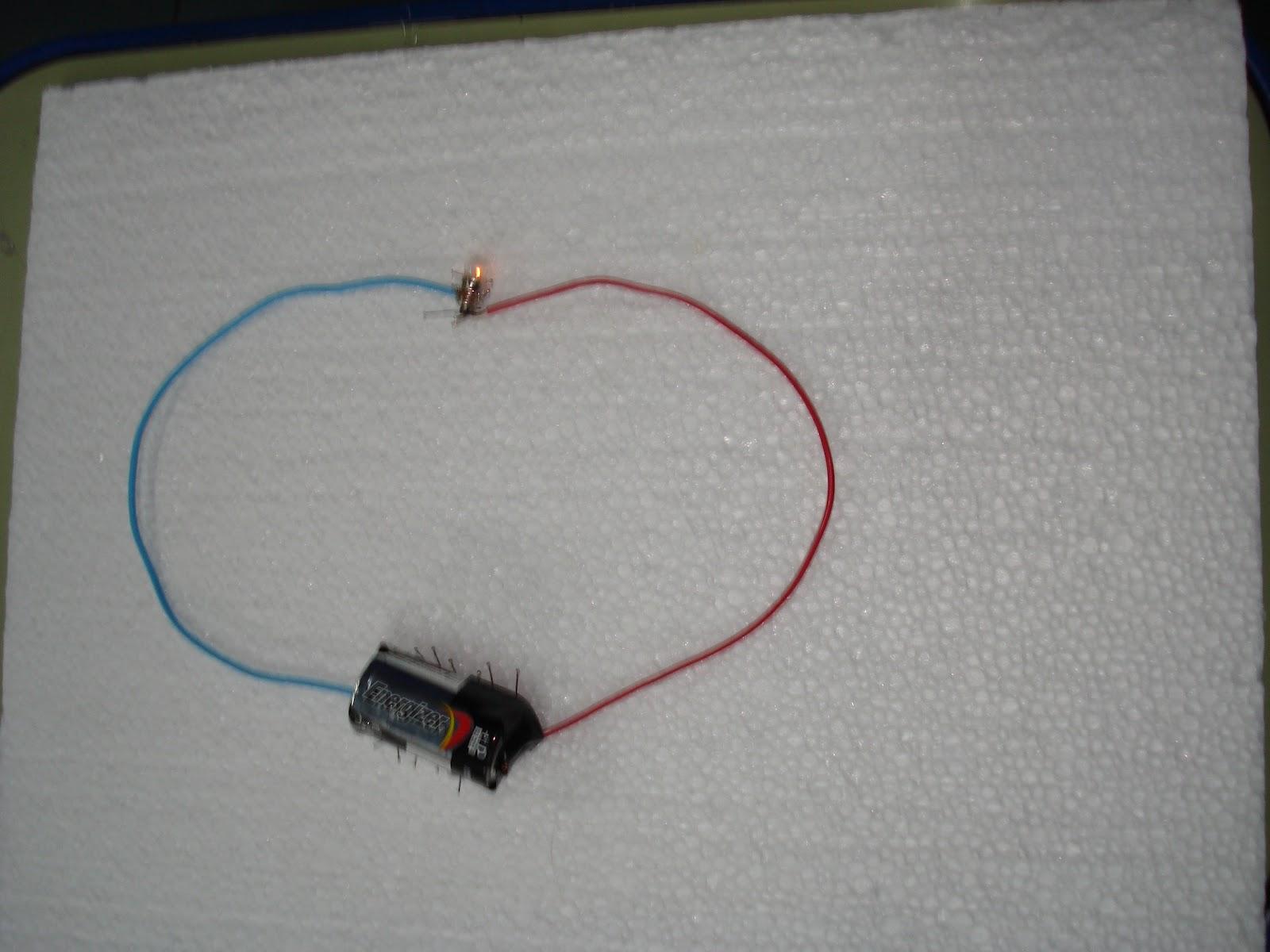 Circuito Sencillo : El blog del eyelen: circuito eléctrico sencillo de 4º grado