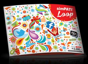 Cara Daftar Paket Blackberry (BB) Simpati Loop