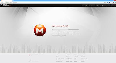 Mega: Las claves públicas y privadas se generan en el propio navegador.