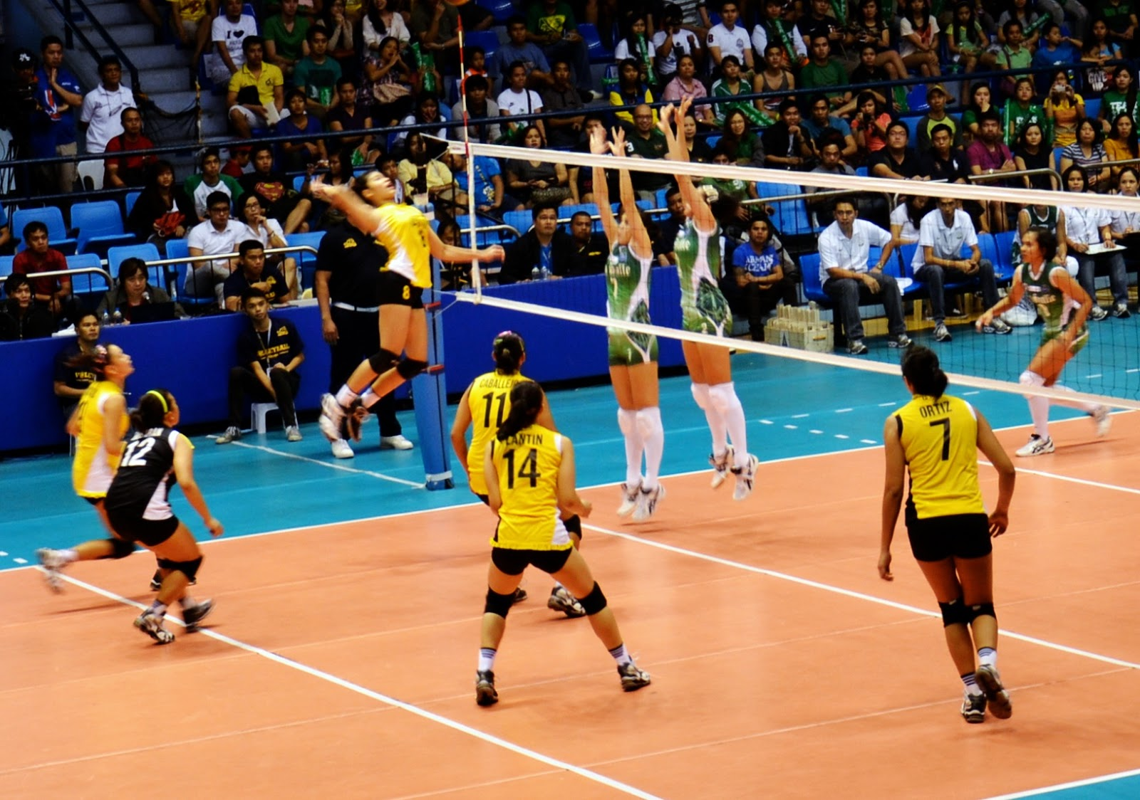 Simple But Effective Uaap Volleyball