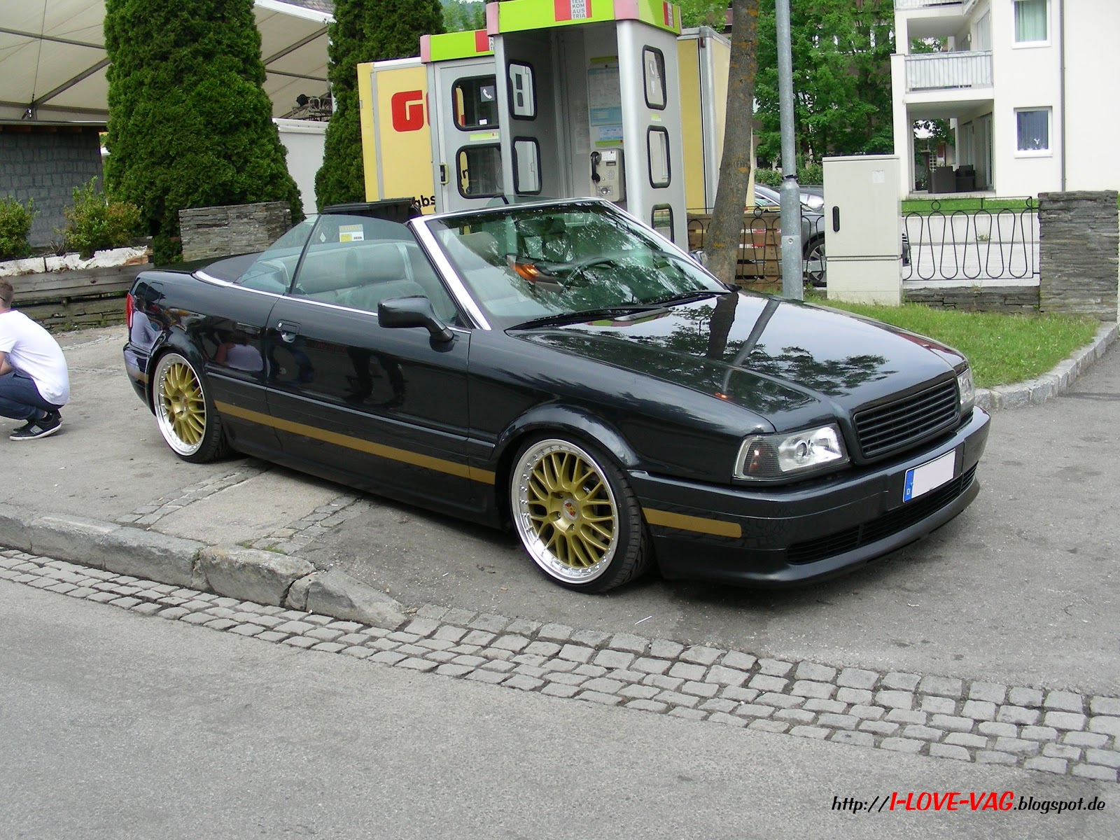 i love vag audi 80 cabrio mit absolut berzeugendem auftritt. Black Bedroom Furniture Sets. Home Design Ideas