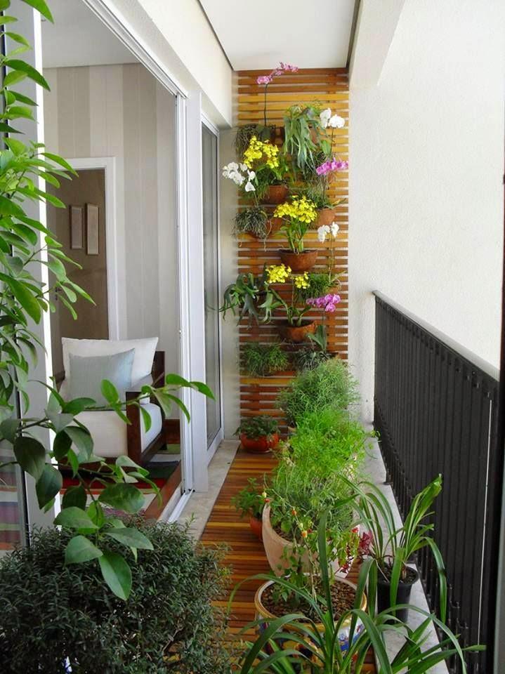 jardim vertical terraco:Varanda pequena? Confira aqui dicas imperdíveis para decorar com
