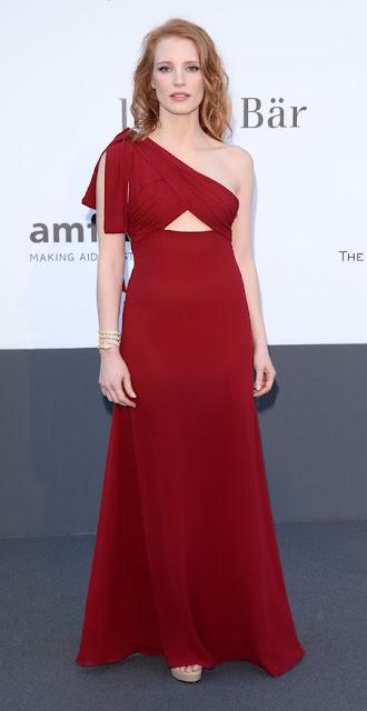 amfAR Cinema Against AIDS 2013 Kırmızı Halı Kıyafetleri