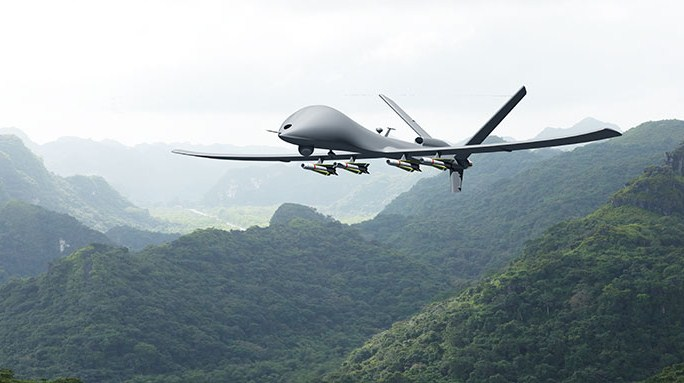 Drone Colombia Fuerza aerea colombiana