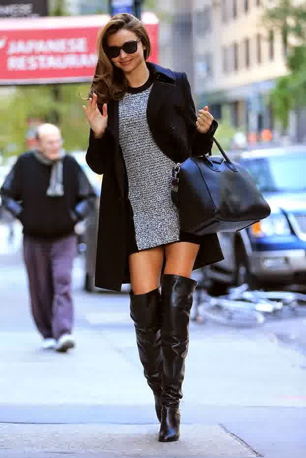 Miranda Kerr With Boots Pictures