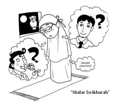 tata cara bacaan doa shalat istikharah