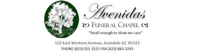 Avenidas Funeral Chapel Scheduled Services