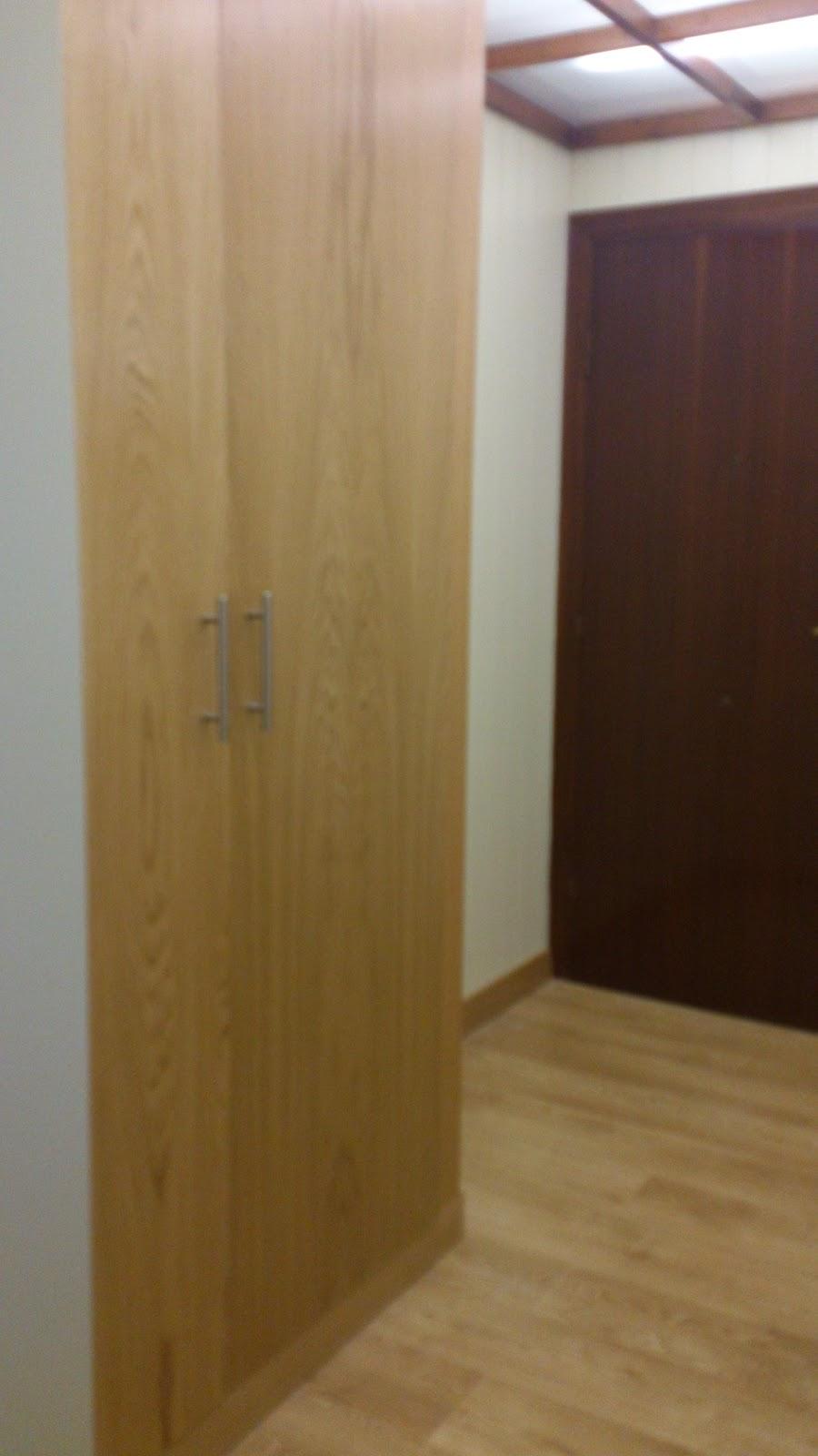 Interiorismo y decoracion lola torga una reforma de un - Armario entrada piso ...