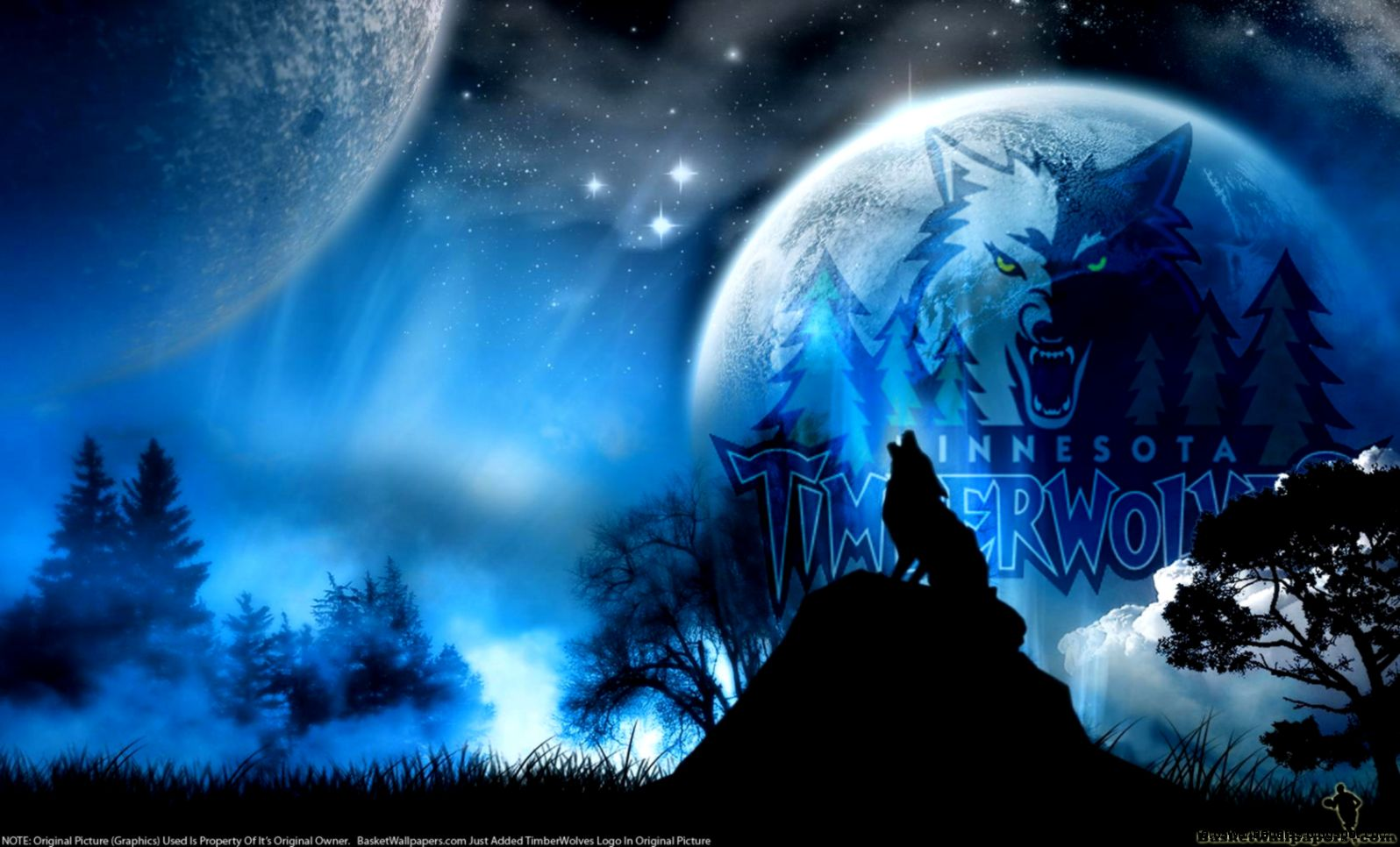 Minnesota timberwolves Wallpaper  X