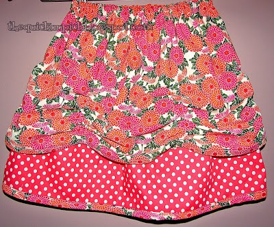 Skirt tutorial for little girls