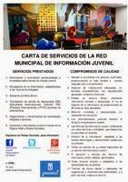 Carta de Servicios de la Red Municipal de Información Juvenil