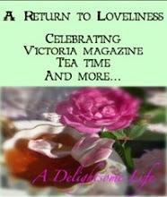 "Kathy's ~ ""Victoria- A Return to Loveliness"" and ""Home and Garden Thursday"""