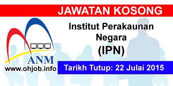 Kerja Kosong Institut Perakaunan Negara (IPN) logo www.ohjob.info julai 2015