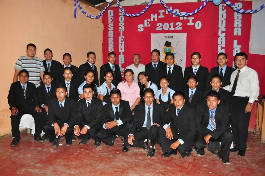SEMINARISTAS 2012