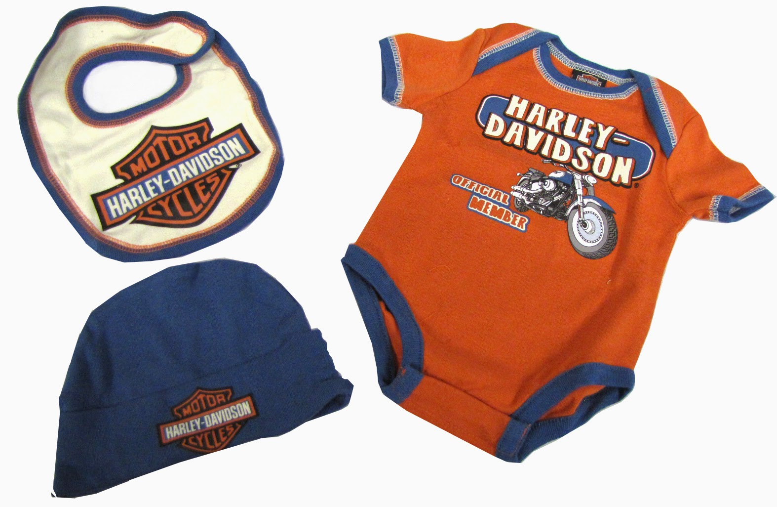 http://www.adventureharley.com/harley-davidson-infant-boys-3-piece-gift-box-set