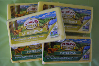 Win 5 coupons for free Rumiano Family Organic Cheese of your choice!