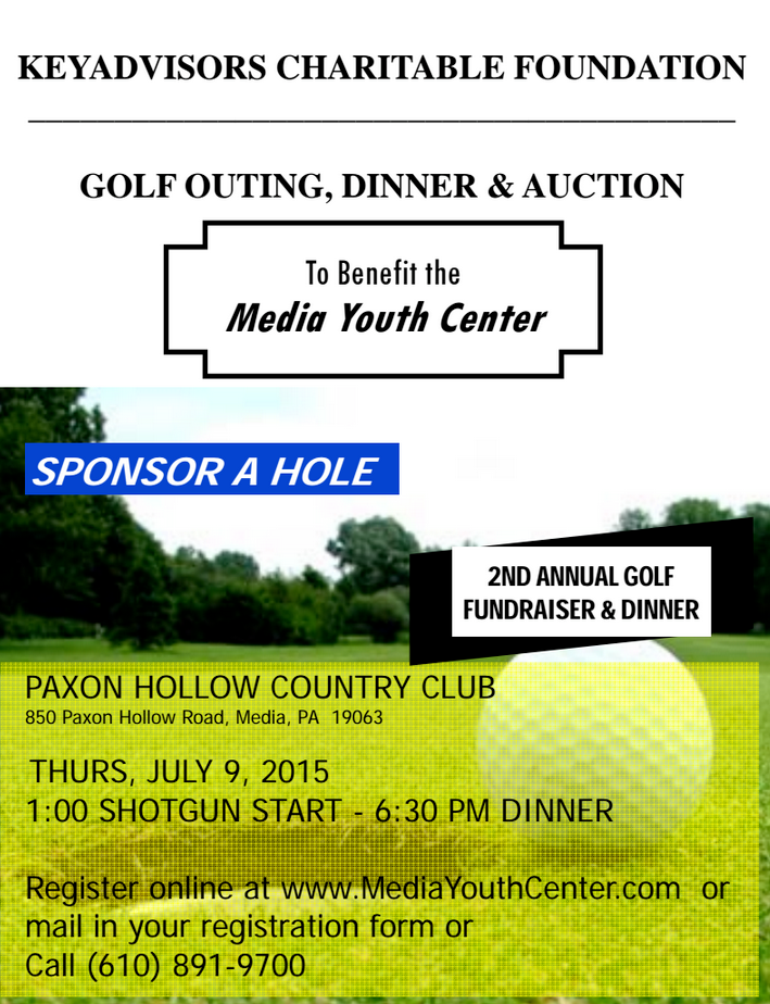 Media Youth Golf Outing and Dinner