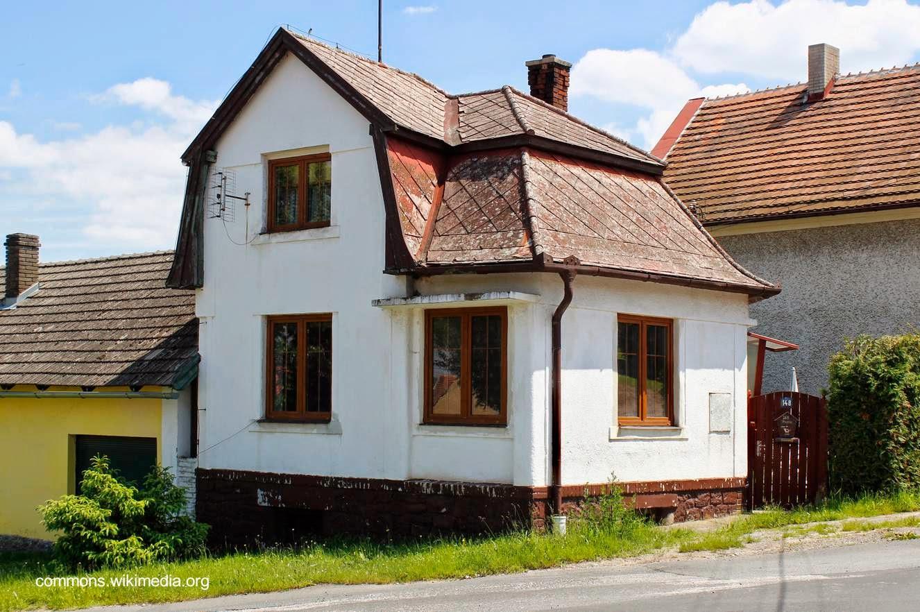 Arquitectura de casas 45 fachadas de casas peque as for Casas reducidas