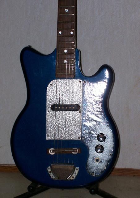 1960s Teisco EJ-1: Body