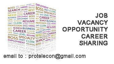 JOB VACANCY OPPORTUNITY CAREER SHARING