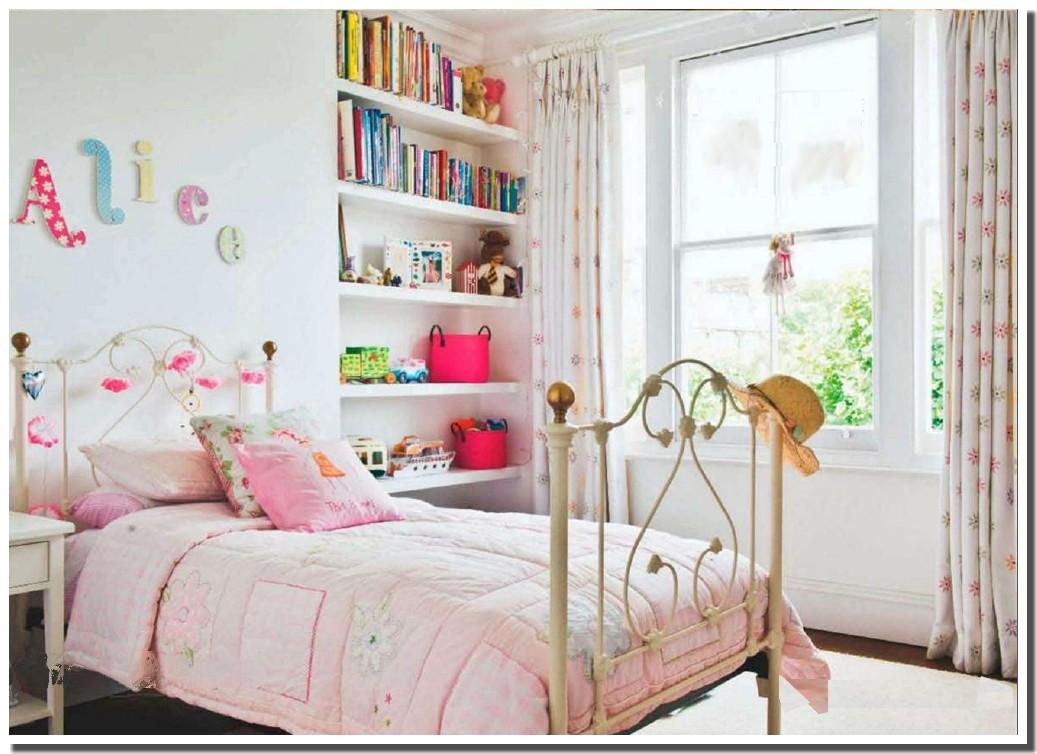 nassima home jolie chambre rose pour filles. Black Bedroom Furniture Sets. Home Design Ideas