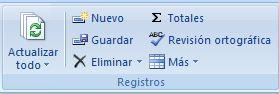 Añadir-Eliminar Registros Tabla