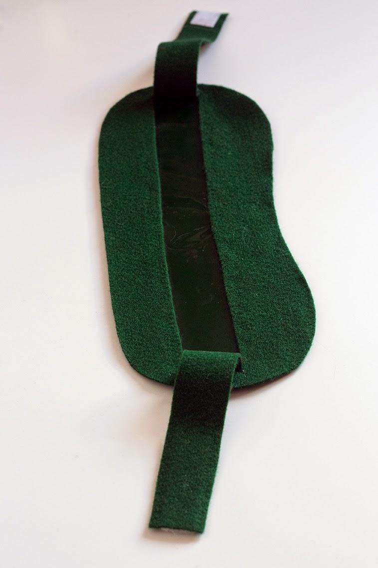 green 'glasses'