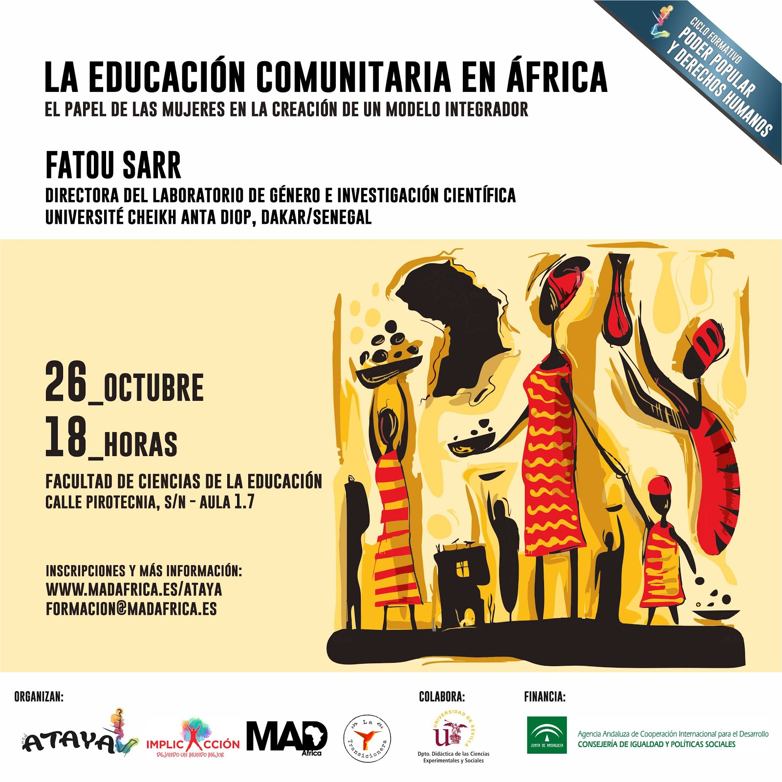 LA EDUCACIÓN COMUNITARIA EN ÁFRICA. El papel de las mujeres en la creación de un modelo integrador.