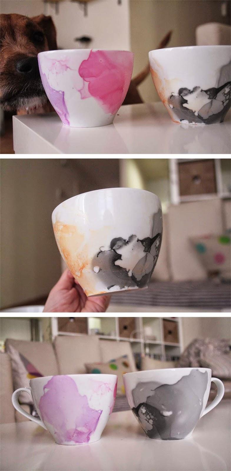 watercolor mug, mug