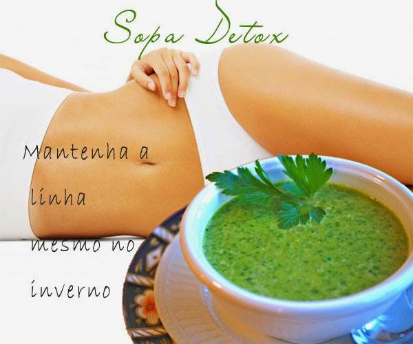 sopa detox - eliminar barriga - eliminar a obesidade