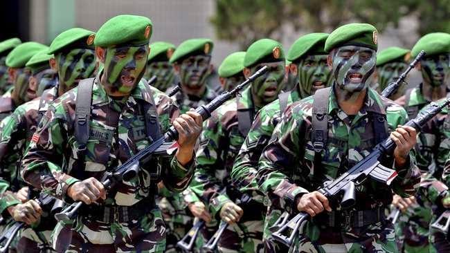 Kekuatan Pokok Minimum Senjata TNI Baru 38 Persen
