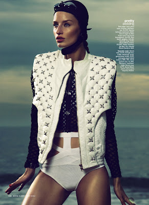 Linda Vojtova in Marie Claire May 2012 by Txema Yesta