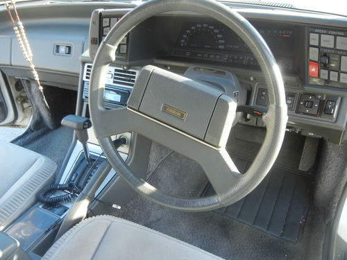 mazda 929 coupe interior