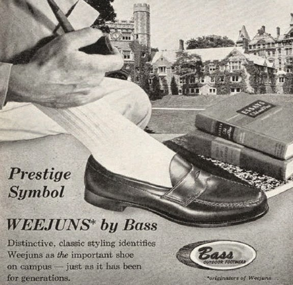 G.H Bass Weejuns the College Campus Shoe