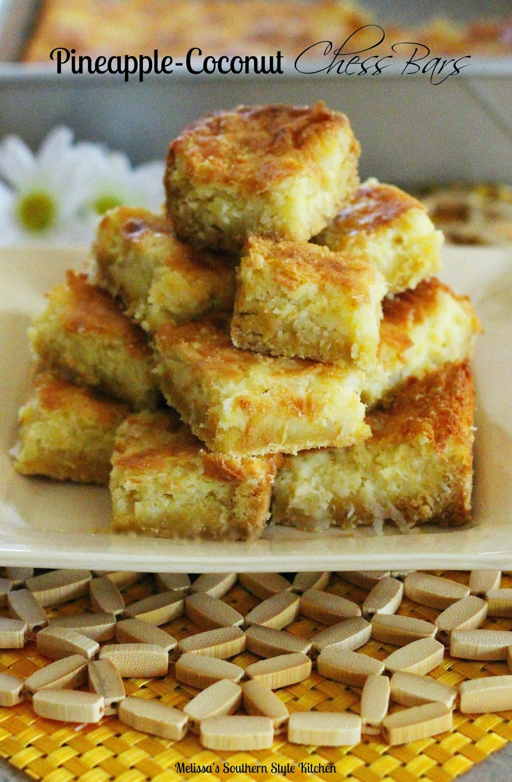Southern Chess Squares Recipe — Dishmaps