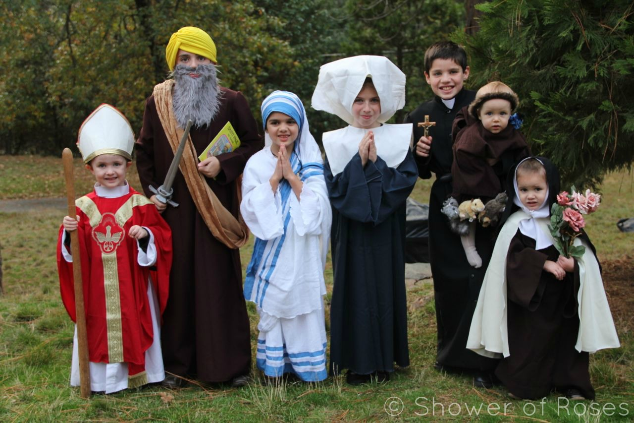 All Saints Day Costumes Children