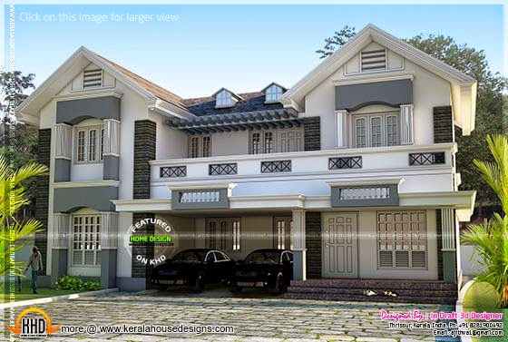 Final rendering house