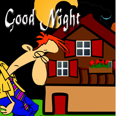 Good Night, Wallpaper, Cartoon Wallpaper, sleep man, cartoon house, blackberry Profil Picture,BBM Off, Working Late, exhausted Man