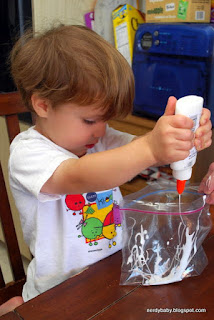 how to make silly putty science project