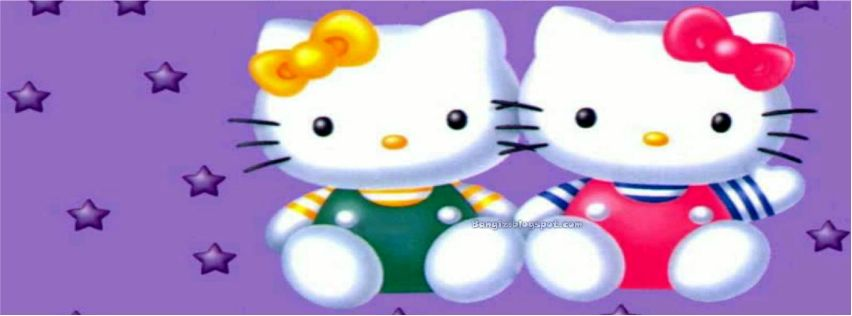 Foto Sampul Facebook Hello Kitty Terbaru