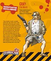 Survivor Zombicide Kickstarter Gary Misfit