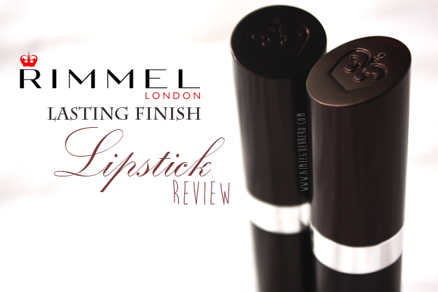 Rimmel London Lasting Finish Lipstick - 066 and 126 | Review