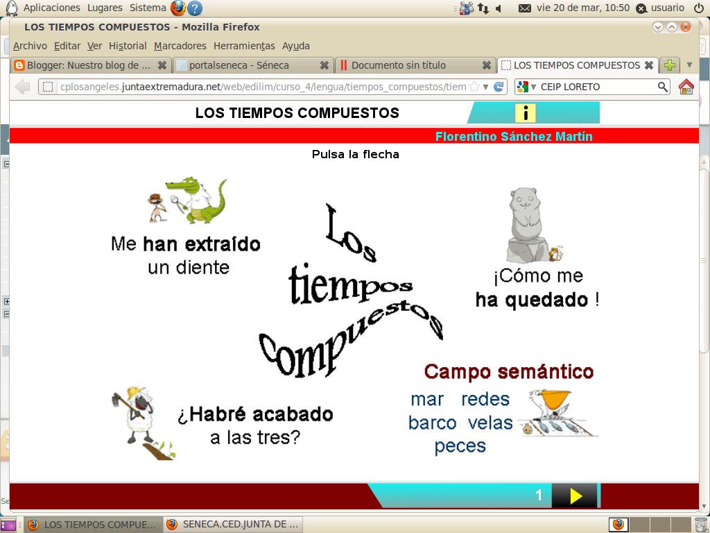 http://cplosangeles.juntaextremadura.net/web/edilim/curso_4/lengua/tiempos_compuestos/tiempos_compuestos.html