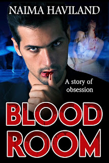 The cover art of the vampire novel Bloodroom
