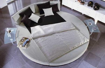 diseño cama circular