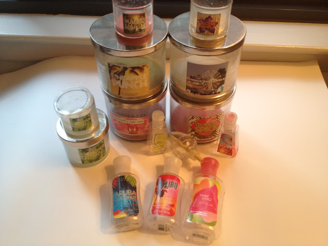 Bath and Body Works Empties