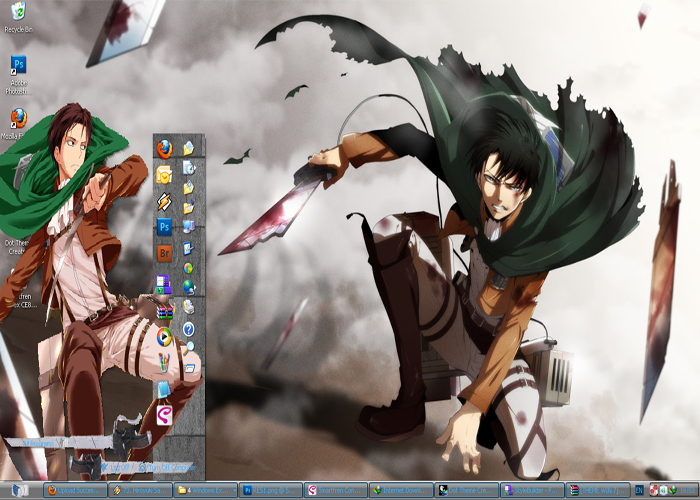 [ Theme Win Xp ] Levi Rivaille 1