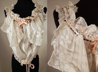 all the pretty dresses edwardian corset cover