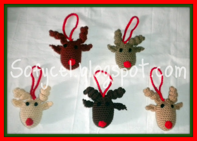 Sofycel creaciones adornos para el arbol de navidad - Adornos de navidad para el arbol ...