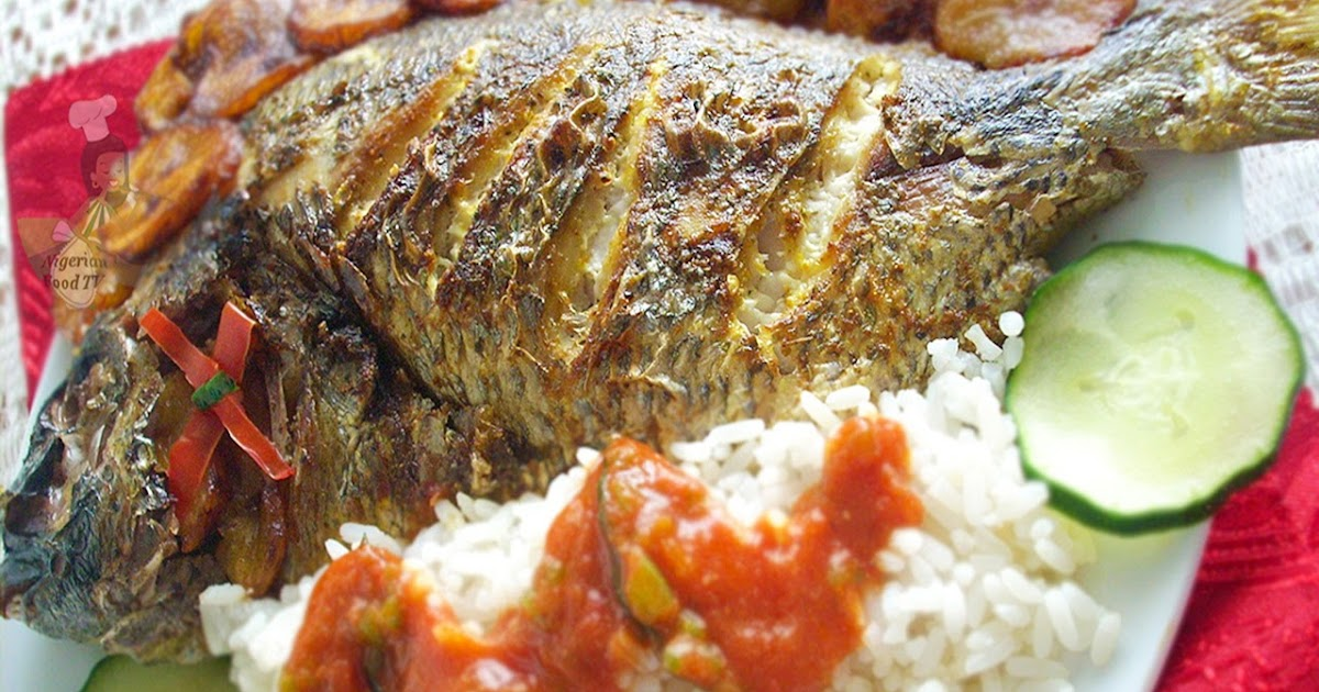Nigerian grilled fish recipe for The fish grill